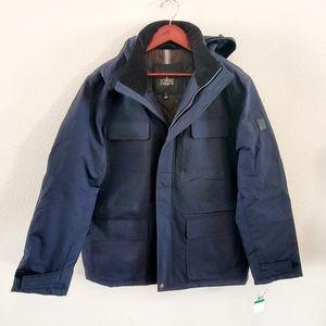 Towne London Fog Waterproof Jacket Blue, L